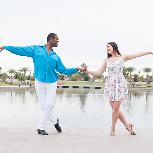 Ballroom dance styles
